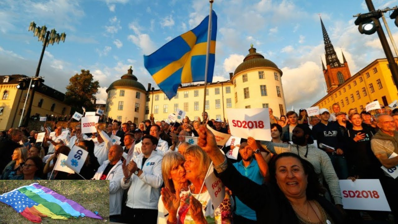 Dr. Steve Turley Nationalist Sweden Democrats BAN LGBT Rainbow Flag from Local City Hall!!!