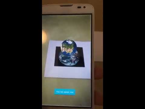 Mobile Augmented Reality with Speech Recognition (Android + ARToolKit #2)