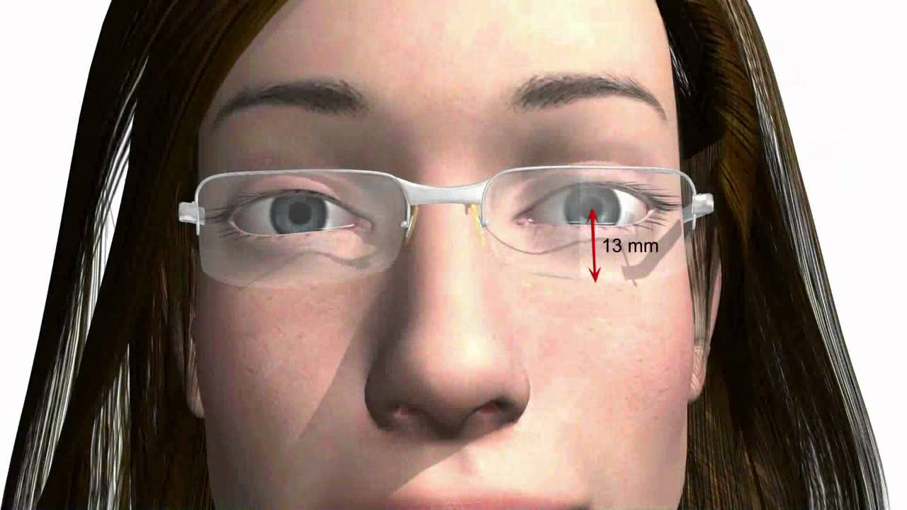422501acbca60 Ajuster correctement ses lunettes - important pour les lunettes achetées en  ligne   - YouTube
