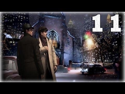 Смотреть прохождение игры Mafia 2. Серия 11 - Неприятности в баре.