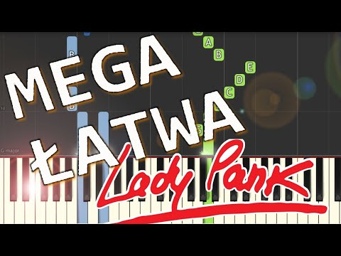 🎹 Kryzysowa Narzeczona (Lady Pank) - Piano Tutorial (MEGA ŁATWA wersja) 🎹