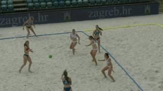 Пляжный гандбол. Россия-Хорватия U17