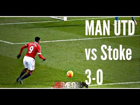 Manchester United vs Stoke City 3-0 (HD)