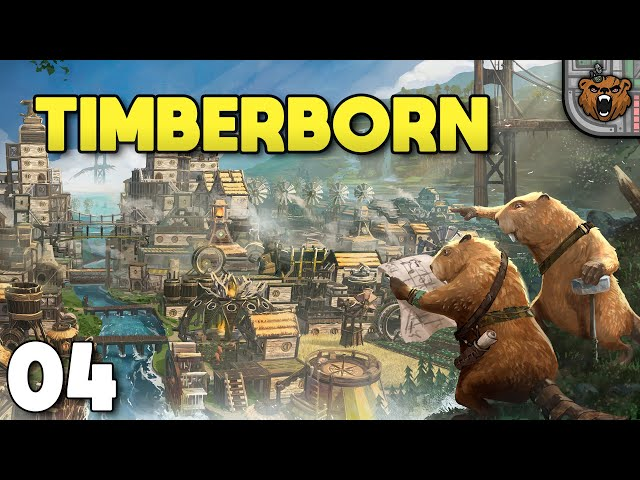 Prepara a floresta ae - Timberborn #04 | Gameplay 4k PT-BR