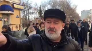 Мальцев на прогулке в Саратове 5.03.17