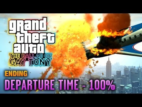 GTA: The Ballad Of Gay Tony - Ending / Final Mission - Departure Time [100%] (1080p)