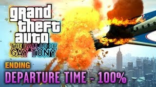 Скачать GTA The Ballad Of Gay Tony Ending Final Mission Departure Time 100 1080p