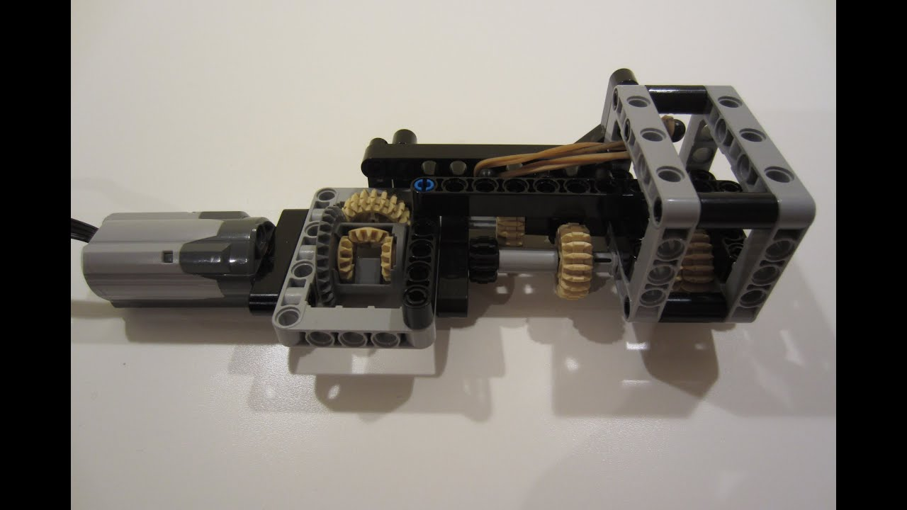 LEGO Automatic 2 Speed Gearbox