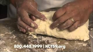 Berry Cream Cheese Scones