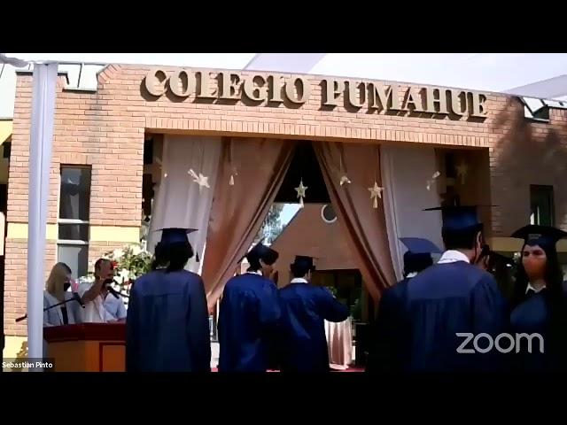 Graduación IV° medios Colegio Pumahue Peñalolén (Grupo 2, 23/12)