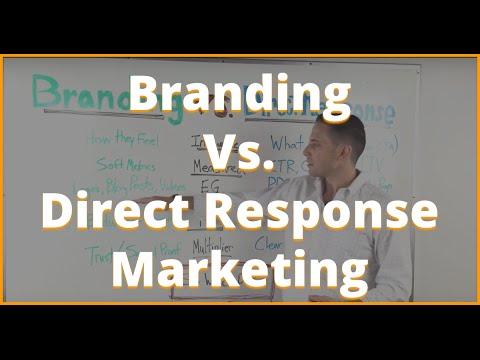 Branding vs Direct Response Marketing