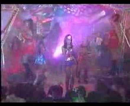 Natalia Oreiro singing Fuiste