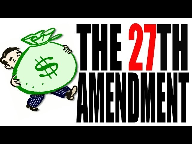 27th Amendment Clipart 27th Amendment Infographic