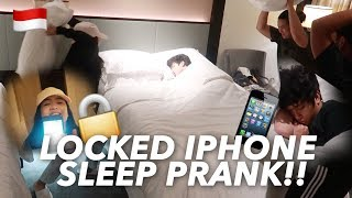 "NIANA & I PRANKED RANZ!""Changed his iphone password"" (Must Watch!) 
