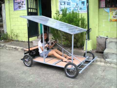 Solar Powered Kart Made In The Philippines Youtube