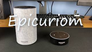 Test de Amazon Echo et Echo Dot
