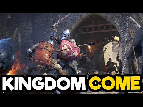Kingdom Come Deliverance Gameplay PC - Medieval Open World Roleplaying Simulator!