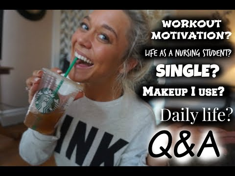Ask A Nursing Student Q&A: Motivation, Classes, Fitness, Single?