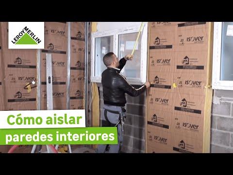 Cómo aislar paredes interiores - LEROY MERLIN