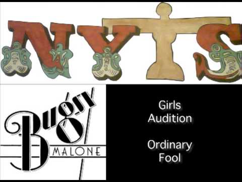 NYTS Bugsy Malone Auditions: Girls Audition - 'Ordinary Fool'