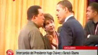 Obama se despidió de Chávez Bye bye, my friend