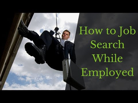 How To Job Search While Employed