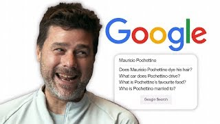 Mauricio Pochettino Answers the Web's Most Searched Questions About Him | Autocomplete Challenge