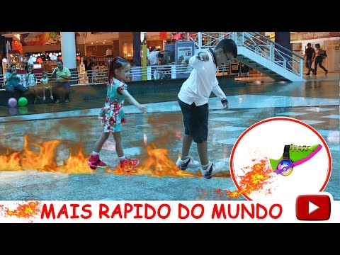 TÊNIS DE RODINHA MAIS RAPIDO DO MUNDO COM LED