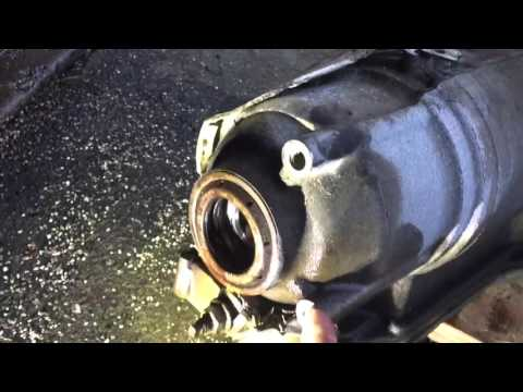 2003 Ford Winstar transmission removal