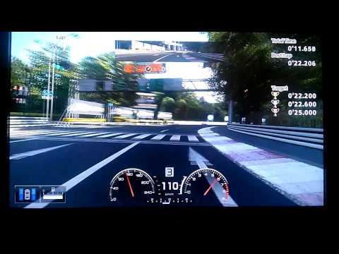 Gran Turismo 5 License B-2 Gold (0'22.107)