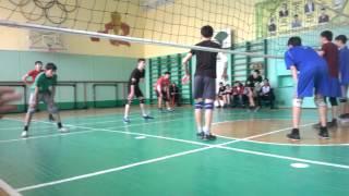 Волейбол 8-21 школа/ город Кокшетау/ 2:0 счет в пользу 8 шк/ 2013-2014