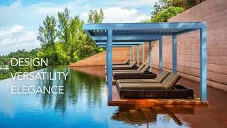 Kedry PRIME - the brand new bioclimatic pergola - English video