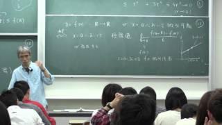 微積分II (2015) (6)  多変数関数の偏微分,全微分 (Calculus II, Lecture 6)