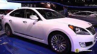 2015 Hyundai Equus Exterior and Interior Walkaround 2015 Detroit Auto Show