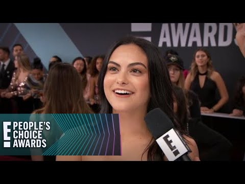 "Camila Mendes Gets a ""Riverdale"" Surprise at the E! PCAs 