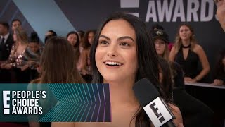 """Camila Mendes Gets a """"Riverdale"""" Surprise at the E! PCAs 