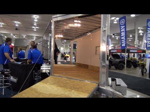 Triton Aluminum Trailers At The Toronto Snowmobile Show, PowerModz!