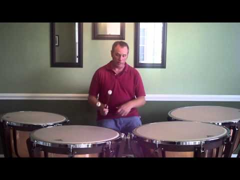 What are the Ranges of Each Timpani