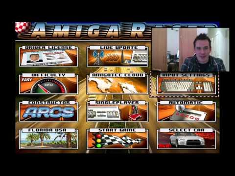 Amiga Racer - New 2016 Amiga Game!