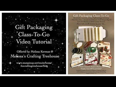 Gift Packaging Class To Go