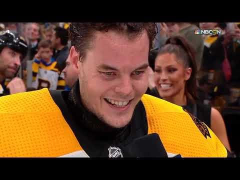 Tuukka Rask leads Boston to Game 7 win vs Toronto (NHL Tonight + Post Game Interviews)
