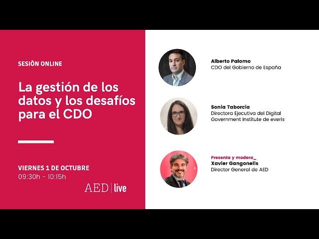 Debate Online I La gestión de los datos y los desafíos para el CDO