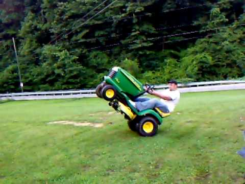 John Deere Wheelie 2 Youtube