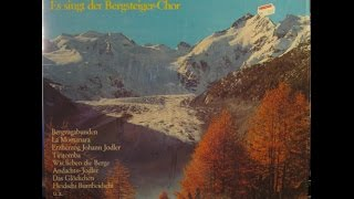 LA MONTANARA - ES SINGT DER BERGSTEIGER CHOR - UNTER LEITUNG VON EDI PFISTER - side 1 of 2
