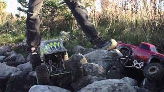 crawling with danalpatt rock slide and max stone 1/10 [part 2 of 2]