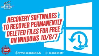 5 Recovery Software to Recover Permanently Deleted Files For Free On Windows 10/8/7