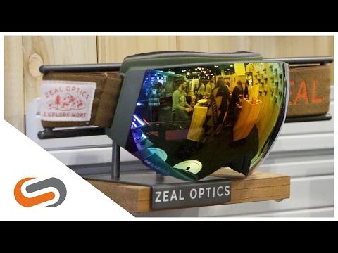 Zeal Portal//RLS Snow Goggle Review At SIA 2017 | SportRx