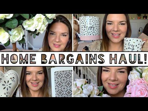 Home Bargains Haul | September 2019 | Wedding Haul | Home Decor | Kate McCabe
