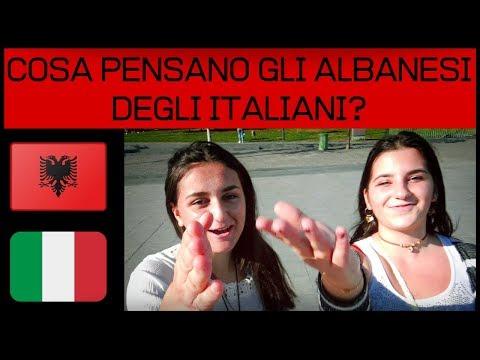 COSA PENSANO GLI ALBANESI DEGLI ITALIANI?