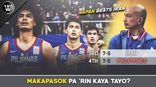 Makapasok pa kaya ang Gilas sa World Cup? | Final Window Scenarios | JAPAN beats IRAN